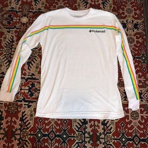 NWOT Polaroid long sleeve t shirt